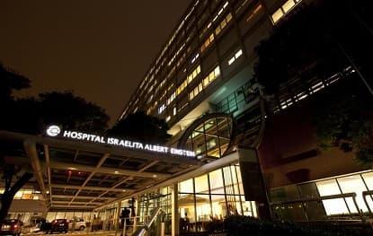 Fachada Hospital Israelita Albert Einstein